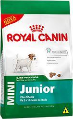 Ração Royal Canin Mini Para Cães Filhotes de Raças Pequenas