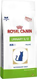 Ração Royal Canin Veterinary Diet Urinary Para Gatos Adultos Com Problemas Urinários