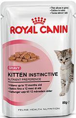 Ração Royal Canin Instinctive Para Gatos Filhotes Sachê - 85g