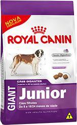 Ração Royal Canin Giant Para Cães Filhotes de Raças Grandes de 8 a 24 Meses - 15,0kg