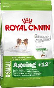 Ração Royal Canin X-Small Para Cães Sênior de Raças Pequenas  a Partir de 12 Anos