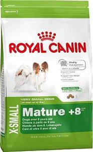 Ração Royal Canin X-Small Para Cães Adultos e Sênior de Raças Pequenas a Partir de 8 Anos