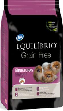 Ração Equilibrio Grain Free Para Cães Sênior de Raças Pequenas