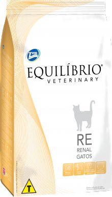Ração Equilibrio Veterinary Cat Renal Para Gatos Adultos