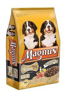 Ração Adimax Pet Magnus Premium Para Cães Filhotes Sabor Carne