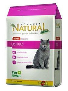 Ração Adimax Pet Fórmula Natual Para Gatos Castrados