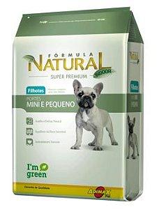 Ração Adimax Pet Fórmula Natural Mini Para Cães Filhotes de Raças Pequenas