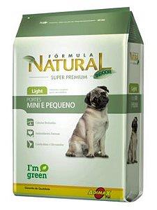 Ração Adimax Pet Fórmula Natural Mini Light Para Cães Adultos de Raças Pequenas