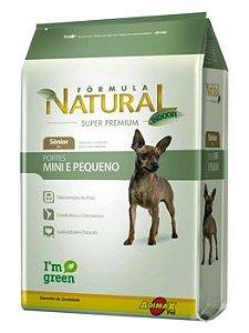 Ração Adimax Pet Fórmula Natural Mini Para Cães Sênior de Raças Pequenas