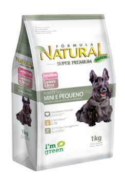 Ração Adimax Pet Fórmula Natural Sensitive Mini Para Cães Adultos de Raças Pequenas