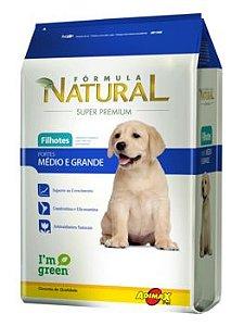 Ração Adimax Pet Fórmula Natural Para Cães Filhotes de Raças Médias e Grandes - 14,0kg