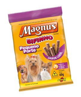 Petisco Adimax Pet Magnus Bifinho Para Cães de Raças Pequenas Sabor Carne - 60g