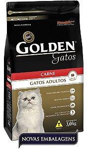 Ração Golden Para Gatos Adultos Sabor Carne