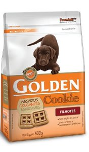 Petisco Golden Cookie Cães Filhotes  - 400g