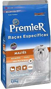 Ração Premier Para Cães Adultos da Raça Maltês Sabor Frango
