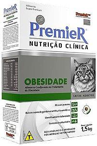 Ração Premier Nutrição Clinica Obesidade Para Gatos