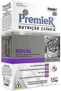 Ração Premier Nutrição Clinica Renal Para Gatos