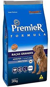 Ração Premier Formula Para Cães Adultos de Raças Grandes Sabor Frango - 15kg