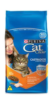 Ração Purina Cat Chow Para Gatos Castrados a Partir de 6 Meses