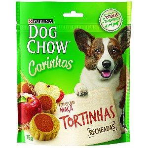 Petisco Purina Dog Chow Carinhos Tortinhas Sabor Maçã