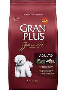 Ração Gran Plus Gourmet Para Cães Adultos Sabor Ovelha e Arroz