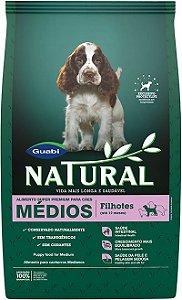 Ração Guabi Natural Para Cães Filhotes de Raças Médias - 3,0kg