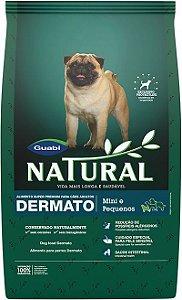 Ração Guabi Natural Dermato Para Cães Adultos de Raças Pequenas - 1,0kg