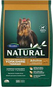 Ração Guabi Natural Para Cães Adultos da Raça Yorkshire
