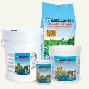 Ração Alcon  Garden Basic Stickes  Para Peixes de Lagos de Jardins