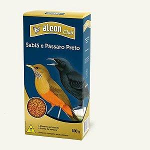 Ração Alcon Club Sabia e Pássaro Preto - 500g