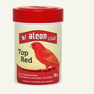 Ração Alcon Top Red - 80g