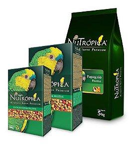 Ração Nutrópica Para Papagaio Frutas