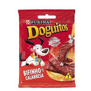 Petisco Doguitos Bifinho Para Cães Sabor Calabresa - 65gr