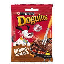 Petisco Doguitos Bifinho Para Cães Sabor Churrasco - 65gr