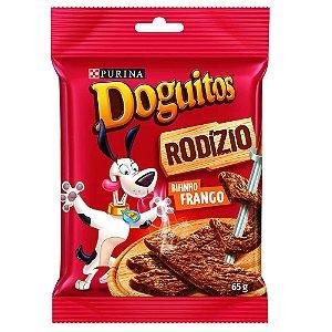 Petisco Doguitos Bifinho Para Cães Sabor Frango - 65gr