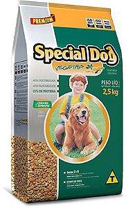 Ração Special Dog Para Cães Adultos Sabor Vegetais
