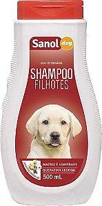 Shampoo Filhotes Sanol Dog - 500ml