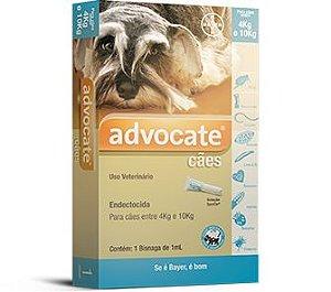 Antipulgas Advantage 1,0ml Para Cães Entre 4kg e 10kg
