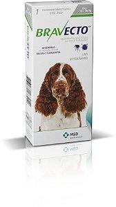 Antipulgas e Carrapatos Bravecto MSD Para Cães de 10kg a 20kg