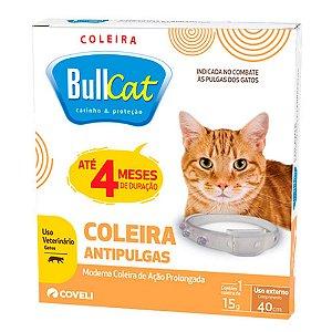 Coleira Antipulgas Para Gatos Bull Cat Coveli 40 cm