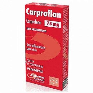 Anti-Inflamatório Carproflan Agner 75mg Com 14 Comprimidos