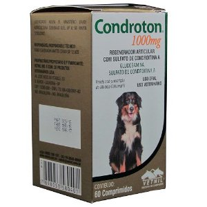 Condroton Vetnil 1000mg Com 60 Comprimidos