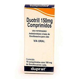 Antibiótico Duotril 150mg Duprat Com 10 Comprimidos