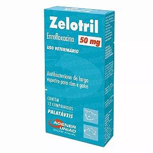 Anti-Inflamatório Zelotril 50mg Agener União Com 12 Comprimidos