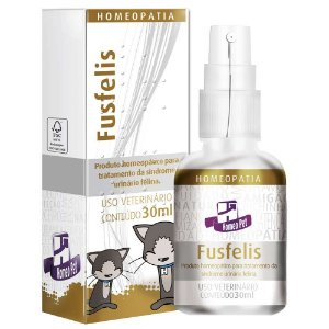 Homeopatia Fusfelis Homeopet Para Gatos - 30ml