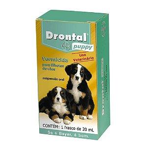 Vermífugo Dontral Puppy Bayer Para Cães 20ml