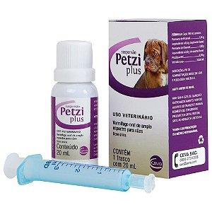 Vermífugos Petzi Suspensão Ceva Para Cães - 20ml