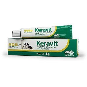 Pomada Ofitálmica Antibiótica Keravit Vetnil - 5g