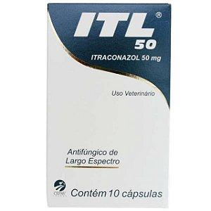 Antifúngico ITL 50mg Cepav Com 10 Comprimidos