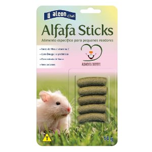 Ração Alcon Club Alfafa Sticks
